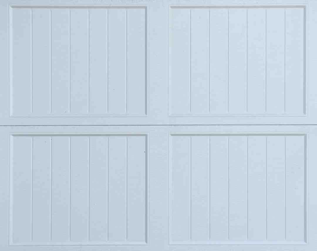 Comment changer le caoutchouc d'une porte de garage ?