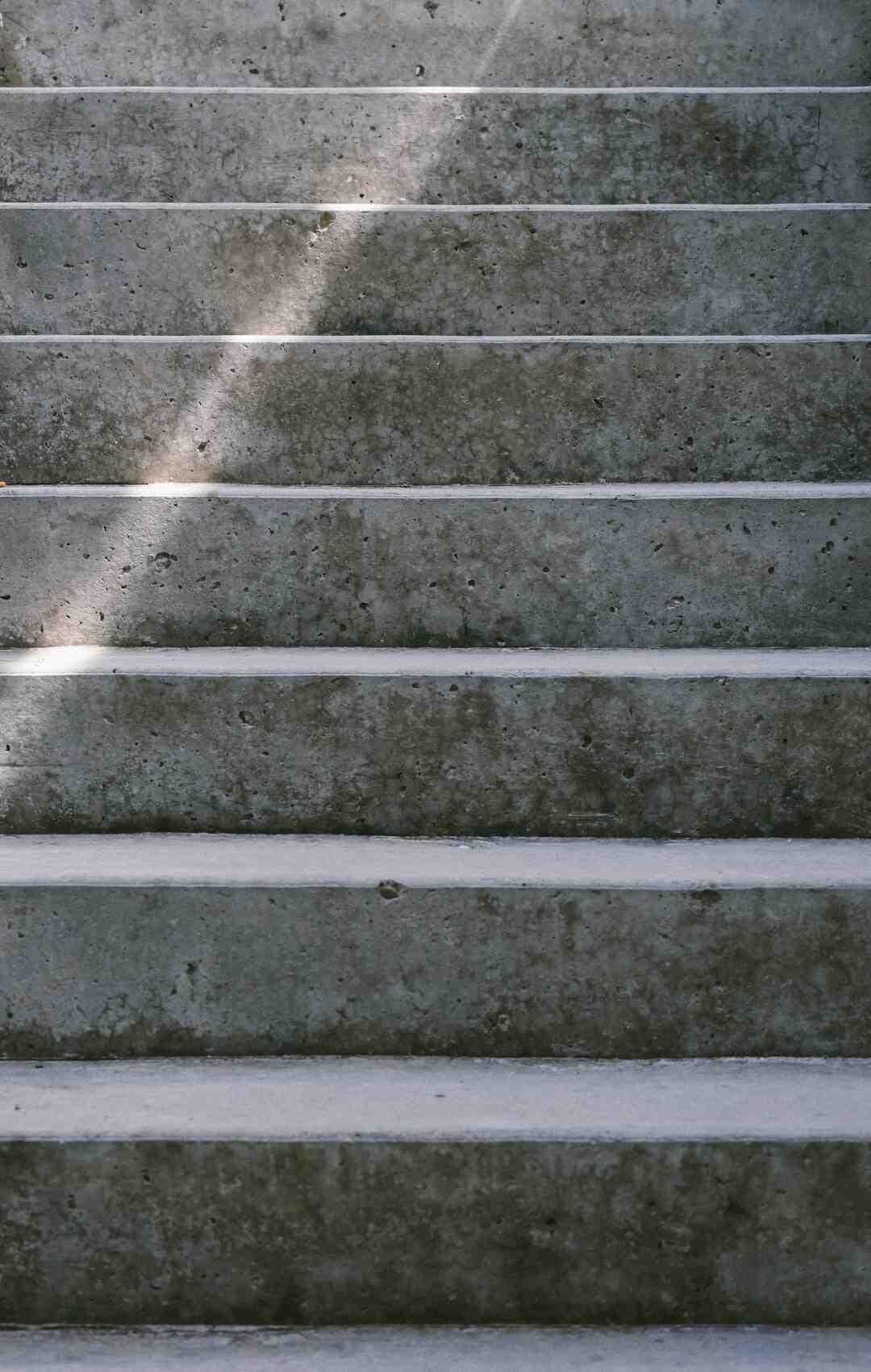 Comment calculer le giron d'un escalier ?