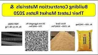 Quels sont les matériaux de constructions ?