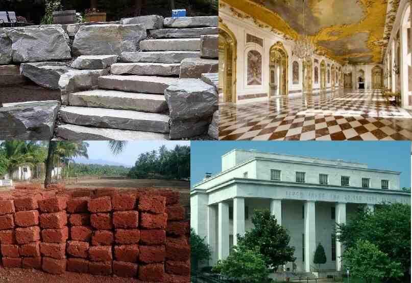 Quels sont les matériaux utilisés pour construire les murs ?